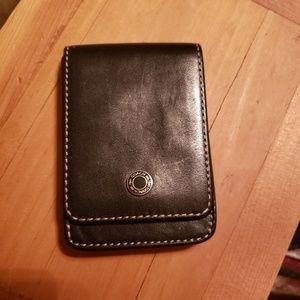Coach card holder
